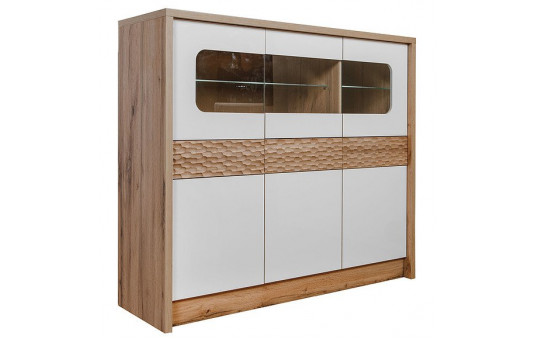 Шкаф с витриной «Рондо 6» П553.06