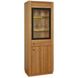 Шкаф с витриной «Рико 1» П449.01