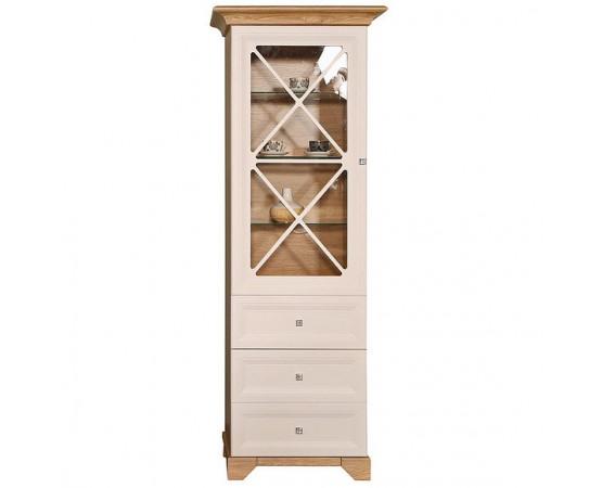 Шкаф с витриной «Сканди» П515.04