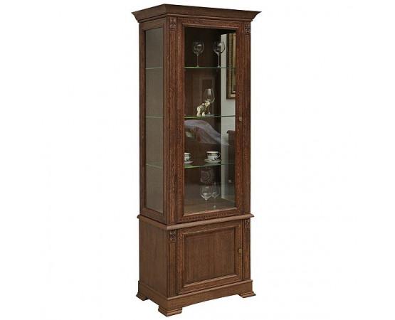 Шкаф с витриной «Пьемонт» П518.26