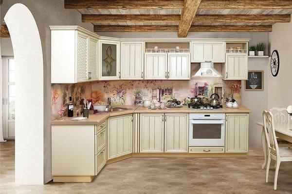 Кухни прованс от белорусской фабрики