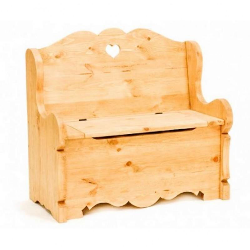 Скамья сундук с ящиком для хранения