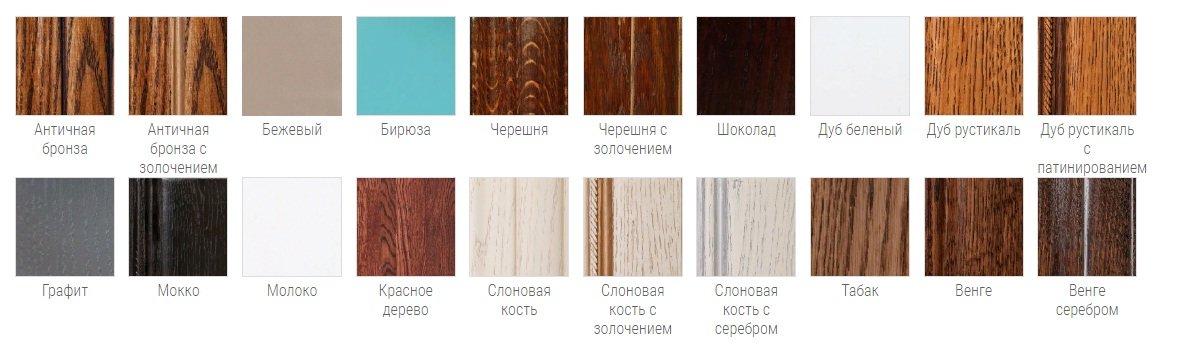 Цветовые вариации кухни Ирина