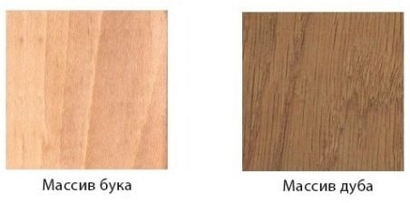 Бук или дуб для мебели
