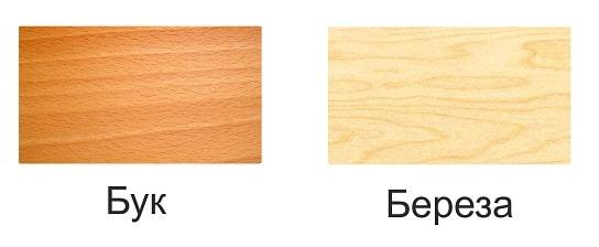 Береза или бук для мебели