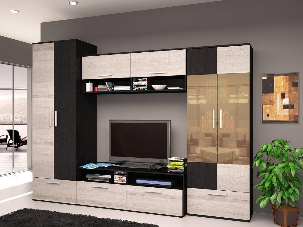 Модульная стенка в гостиную