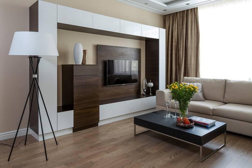 Современный стиль хай-тек в гостиной