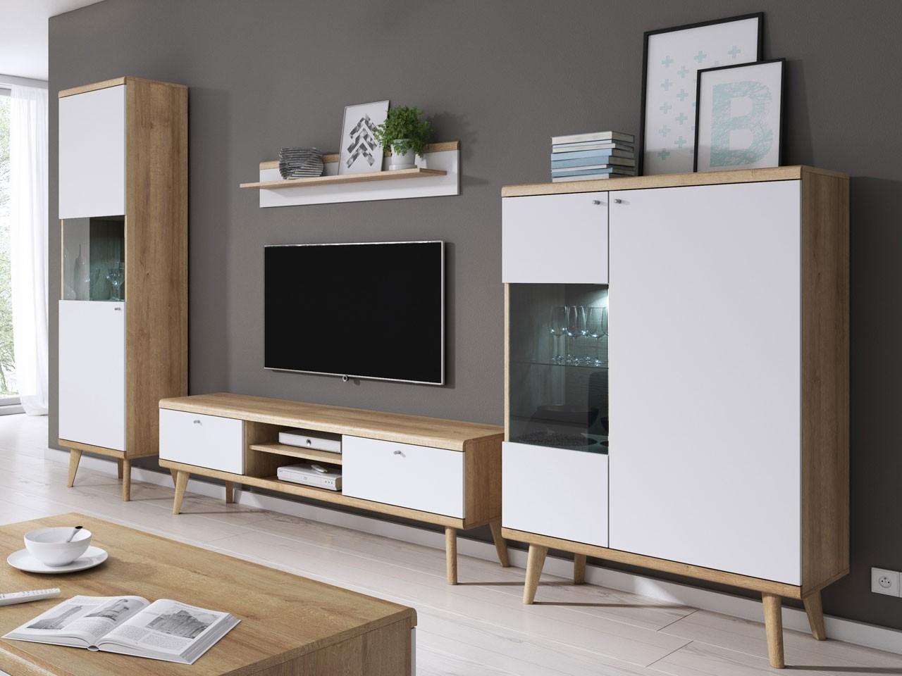Мебель в гостиную в скандинавском стиле