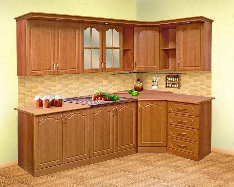 Кухня из ольхи