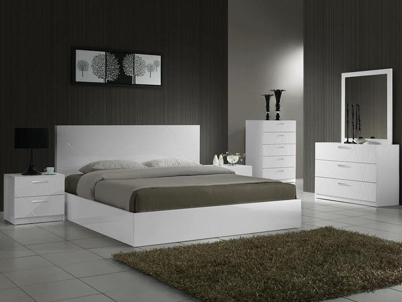 Мебель для спальни хай-тек