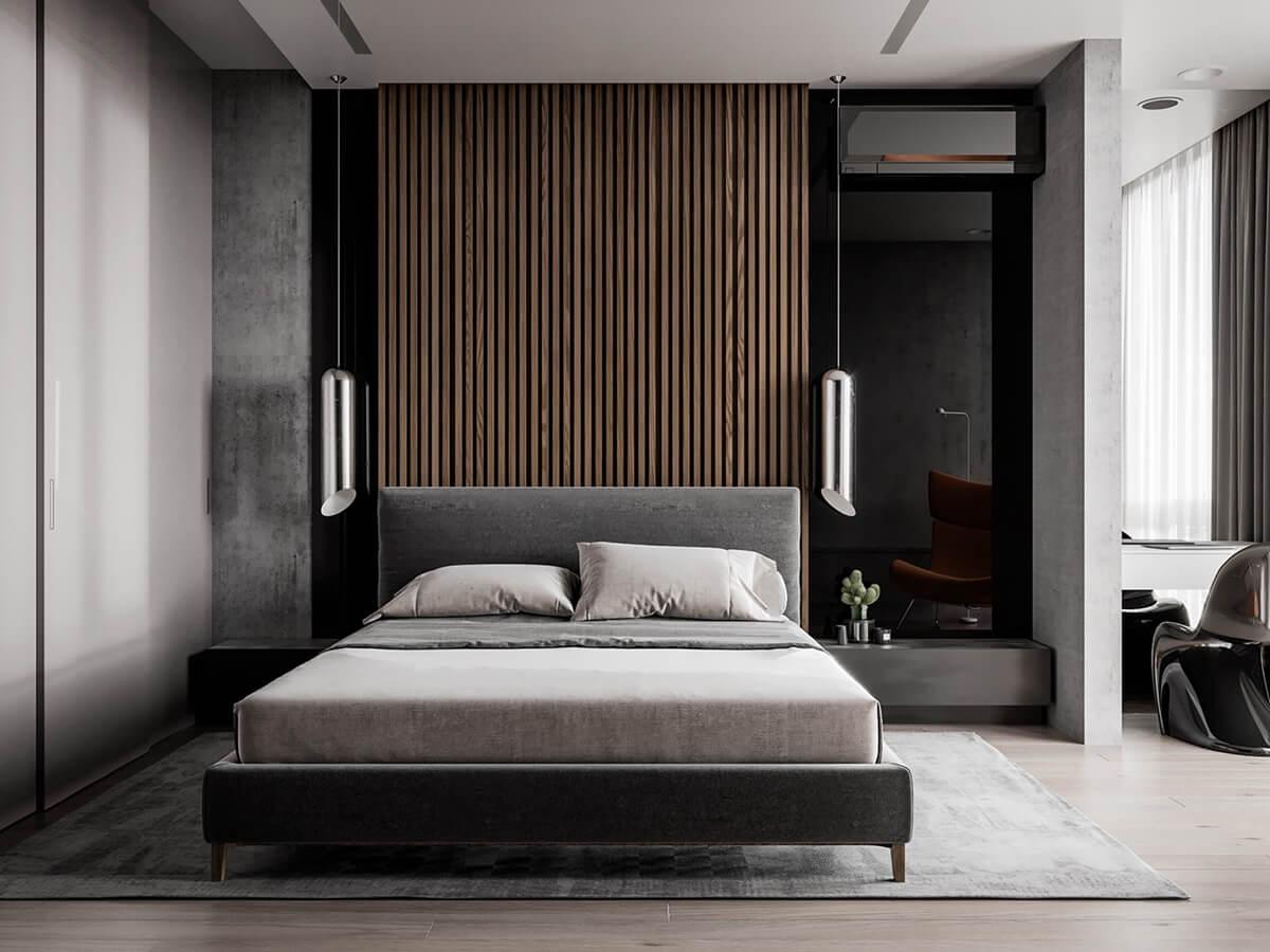 Хай-тек мебель в спальню