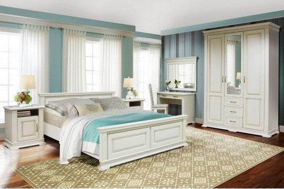 Выбор мебели в интерьер спальни